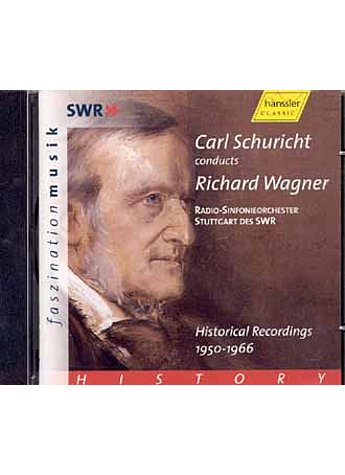 AUDIO-CD: RICHARD WAGNER HISTORICAL RECORDINGS 1950-66