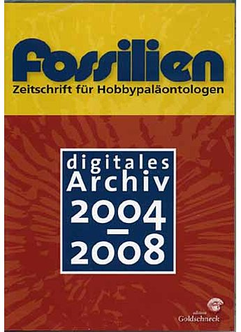 CD-ROM: FOSSILIEN - DIGITALES ARCHIV 2004-2008
