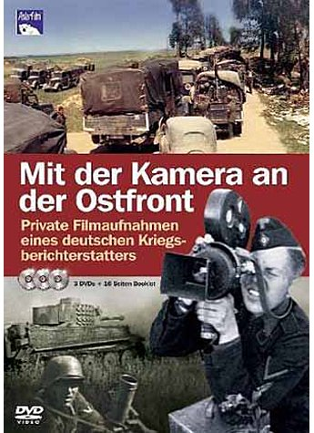 DVD-VIDEO: MIT DER KAMERA AN DER OSTFRONT (3 DVDs)