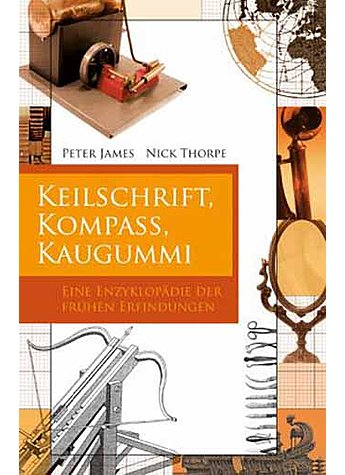 JAMES: KEILSCHRIFT, (M) KOMPASS, KAUGUMMI
