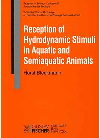RECEPTION OF HYDRODYNAMIC STIMULI IN AQUATIC AND SEMIAQU. ANIMALS