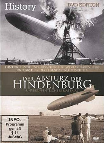 DVD-VIDEO: DER ABSTURZ DER HINDENBURG