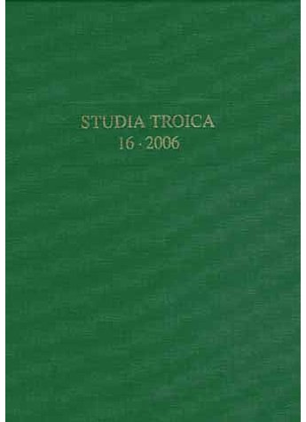 BAND 16: STUDIA TROICA 2006