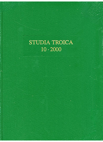 BAND 10: STUDIA TROICA 2000