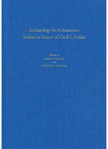 STUDIES IN HONOR OF CECIL L.STRIKER - EMERICK, DELIYANNIS