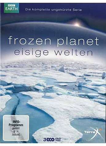 FROZEN PLANET - EISIGE WELTEN (3 DVD-VIDEOS)