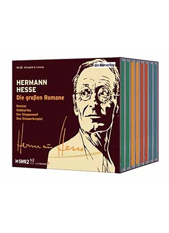 HERMANN HESSE - DIE GROSSEN ROMANE (14 AUDIO-CDS)