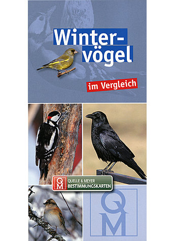 QUELLE & MEYER BESTIMMUNGS- KARTEN WINTERVÖGEL