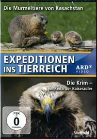 DVD-VIDEO: MURMELTIERE / DIE KRIM