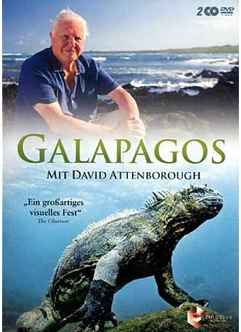 DVD-VIDEO GALAPAGOS - DAVID ATTENBOROUGH
