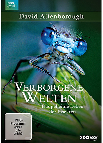 DVD VERBORGENE WELTEN - DAVID ATTENBOROUGH