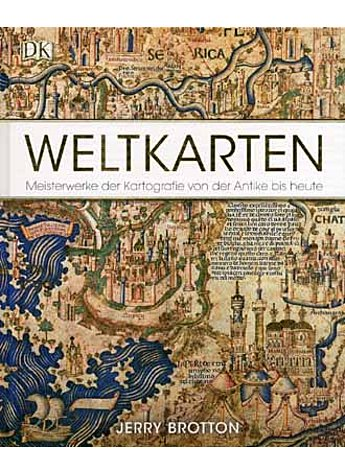 WELTKARTEN - JERRY BROTTON