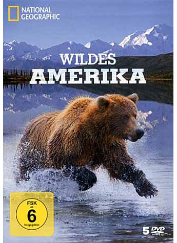 WILDES AMERIKA - 5 DVDS