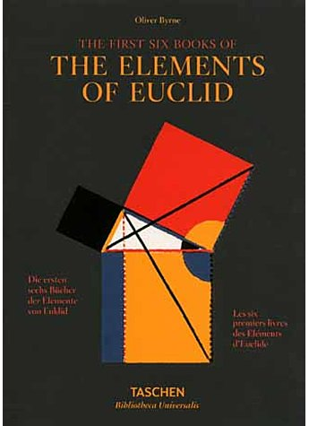 THE ELEMENTS OF EUCLID - OLIVER BYRNE