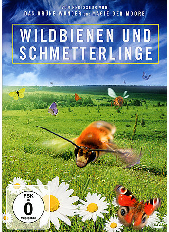 DVD-VIDEO WILDBIENEN UND SCHMETTERLINGE - JAN HAFT