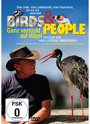 DVD-VIDEO BIRDS & PEOPLE - HANS-JÜRGEN ZIMMERMANN