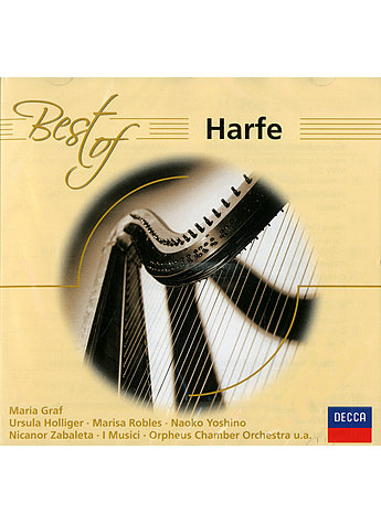 CD BEST OF HARFE