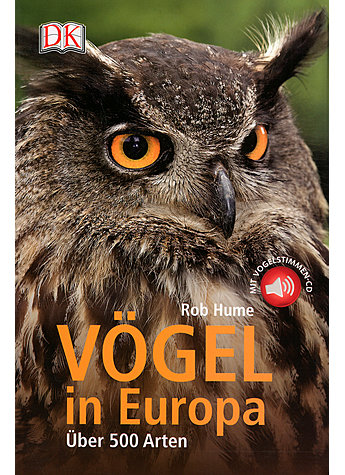 VÖGEL IN EUROPA - MIT CD - ROB HUME