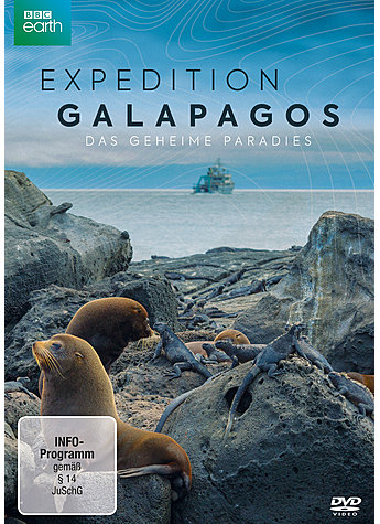 DVD-VIDEO EXPEDITION GALAPAGOS