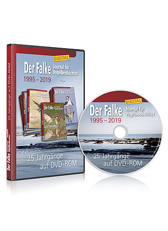 DVD-ROM DER FALKE DIGITAL - 1995-2019