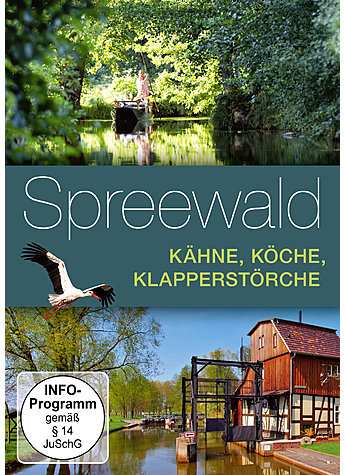 DVD-VIDEO DER SPREEWALD - MAJA DIELHENN