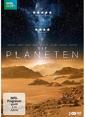 DVD-VIDEO DIE PLANETEN