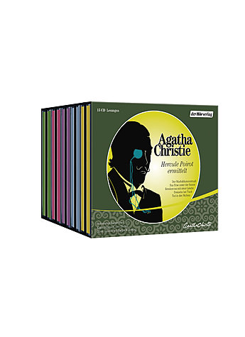 AUDIO-CD-BOX HERCULE POIROT ERMITTELT - AGATHA CHRISTIE