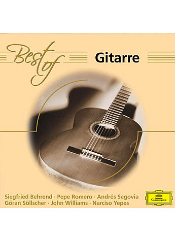 CD BEST OF GITARRE