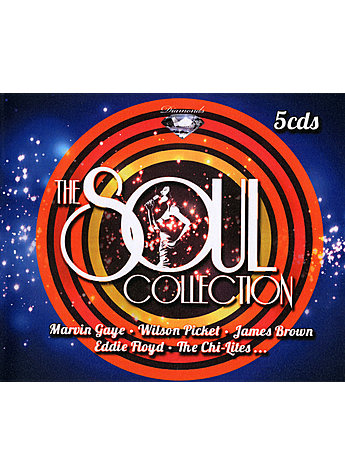 5 CD-BOX THE SOUL COLLECTION