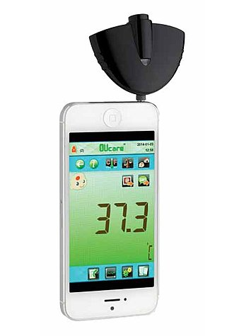INFRAROT-THERMOMETER FÜR SMART PHONES