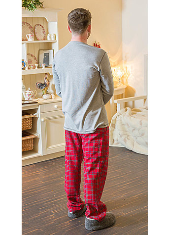 FLANELL LOUNGE PANTS GR.XL Bild 3
