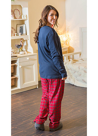 FLANELL LOUNGE PANTS GR.XL Bild 5