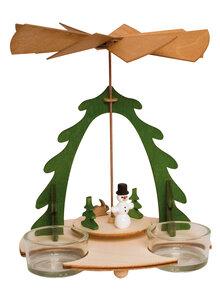 Holz bastelset pyramide schneemann advent weihnachten sch nes dekoratives humanitas - Bastelset weihnachten ...