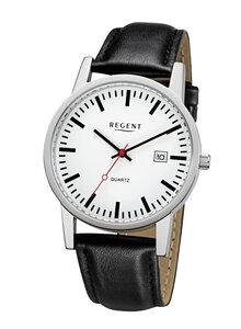 regent herren armbanduhr im bahnhofsuhr design armband. Black Bedroom Furniture Sets. Home Design Ideas