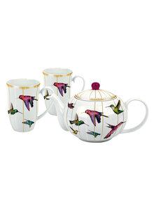 tee set tealicious morning tea glas geschirr k che. Black Bedroom Furniture Sets. Home Design Ideas