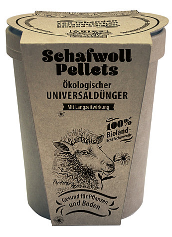 SCHAFWOLLPELLETS