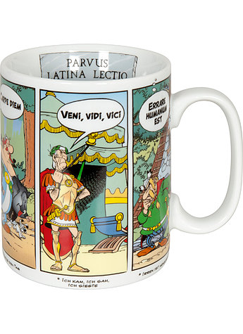 BECHER ASTERIX LATEIN/DEUTSCH